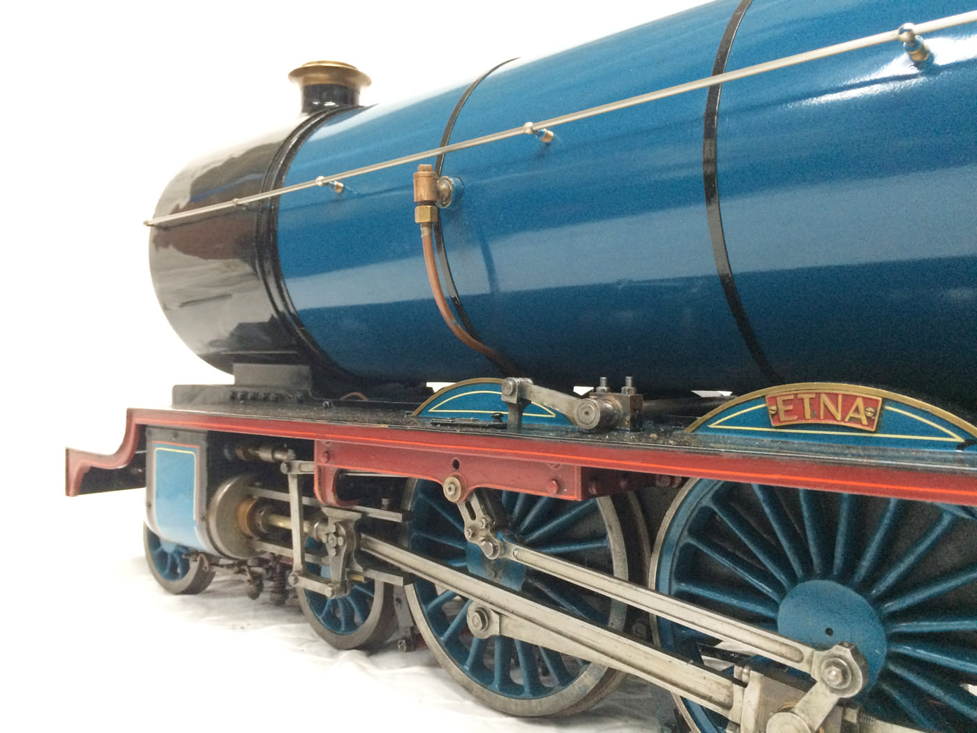 test 5 gauge maskelyne live steam locomotive for sale 15
