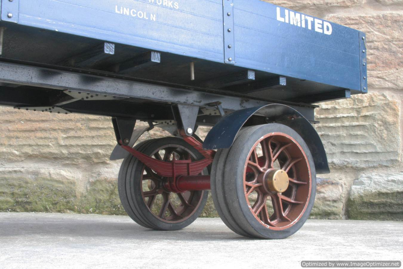 test 2 inch scale Clayton live steam lorry for sale 15-Optimized