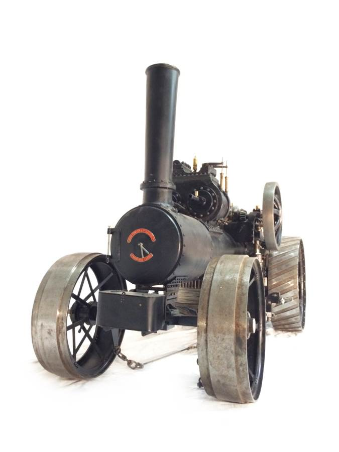 test 2 inch scale Fowler Z7s BB1 Superba ploughing engine for sale 26-Optimized