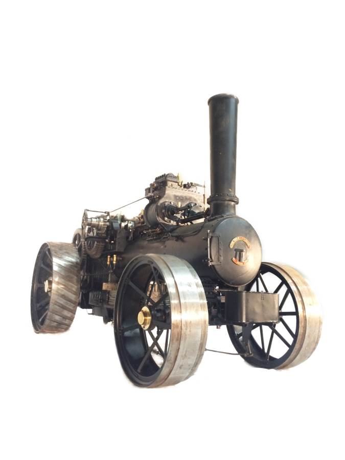 test 2 inch scale Fowler Z7s BB1 Superba ploughing engine for sale 28-Optimized