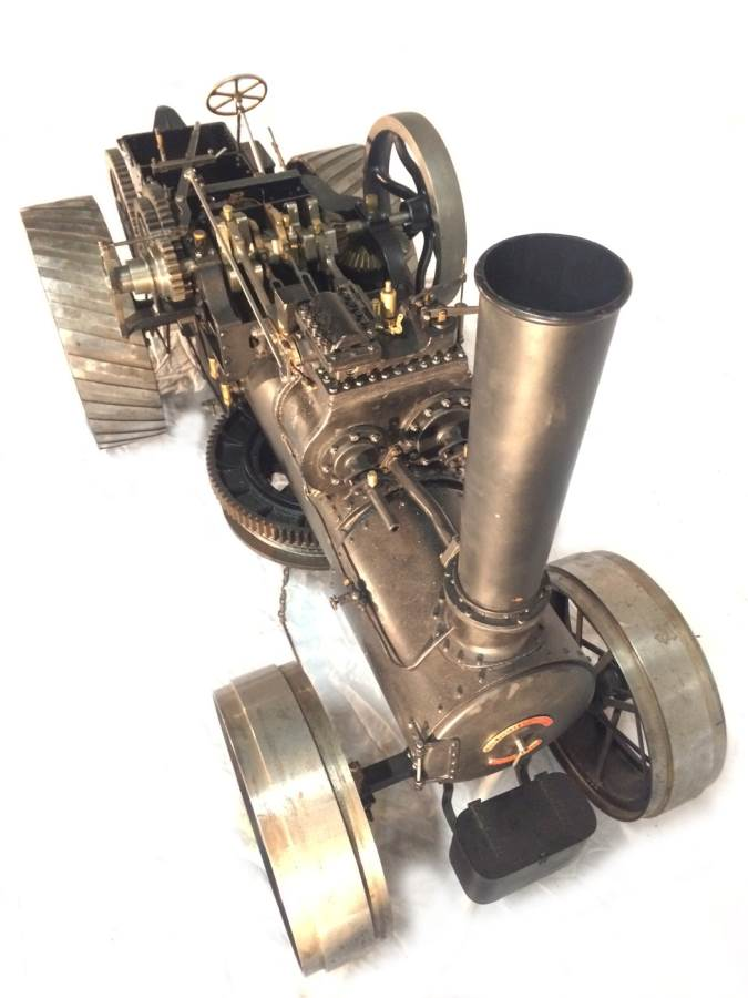 test 2 inch scale Fowler Z7s BB1 Superba ploughing engine for sale 30-Optimized