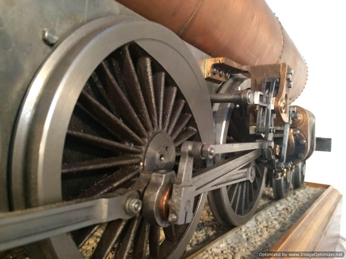 test 3 gauge live steam miniature locomotive LBSC Heilan Lassie Thompson A1 for sale 01-Optimized