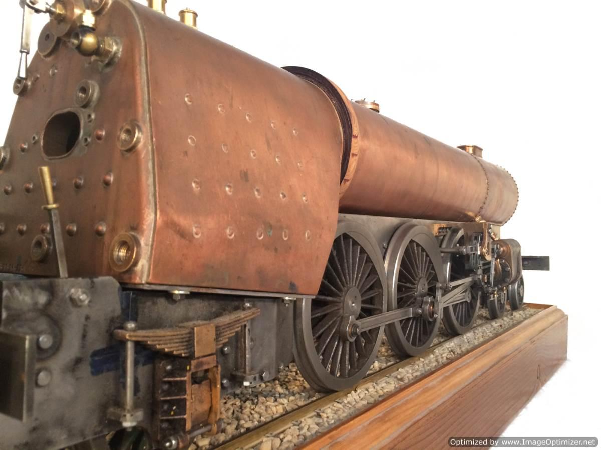 test 3 gauge live steam miniature locomotive LBSC Heilan Lassie Thompson A1 for sale 04-Optimized
