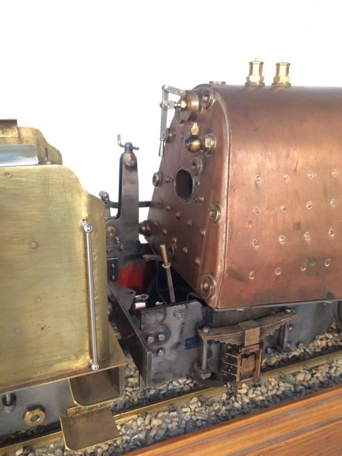 test 3 gauge live steam miniature locomotive LBSC Heilan Lassie Thompson A1 for sale 05-Optimized