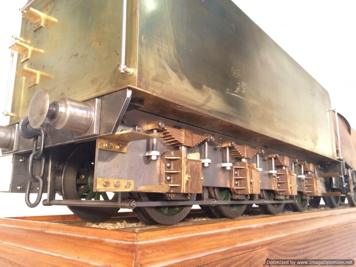 test 3 gauge live steam miniature locomotive LBSC Heilan Lassie Thompson A1 for sale 06-Optimized