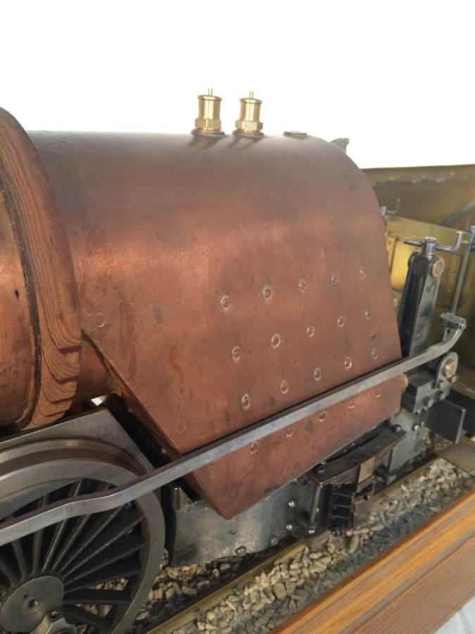 test 3 gauge live steam miniature locomotive LBSC Heilan Lassie Thompson A1 for sale 09-Optimized