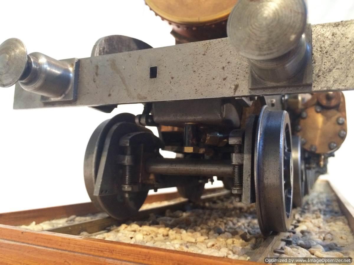 test 3 gauge live steam miniature locomotive LBSC Heilan Lassie Thompson A1 for sale 10-Optimized