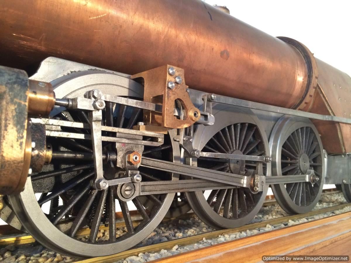 test 3 gauge live steam miniature locomotive LBSC Heilan Lassie Thompson A1 for sale 13-Optimized