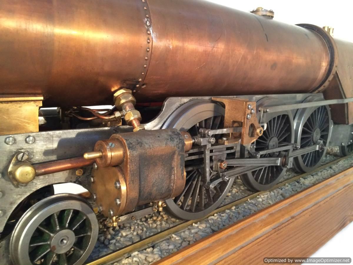 test 3 gauge live steam miniature locomotive LBSC Heilan Lassie Thompson A1 for sale 14-Optimized