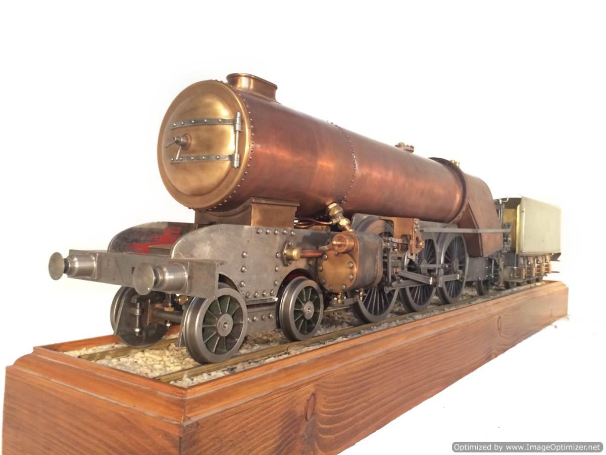 test 3 gauge live steam miniature locomotive LBSC Heilan Lassie Thompson A1 for sale 15-Optimized
