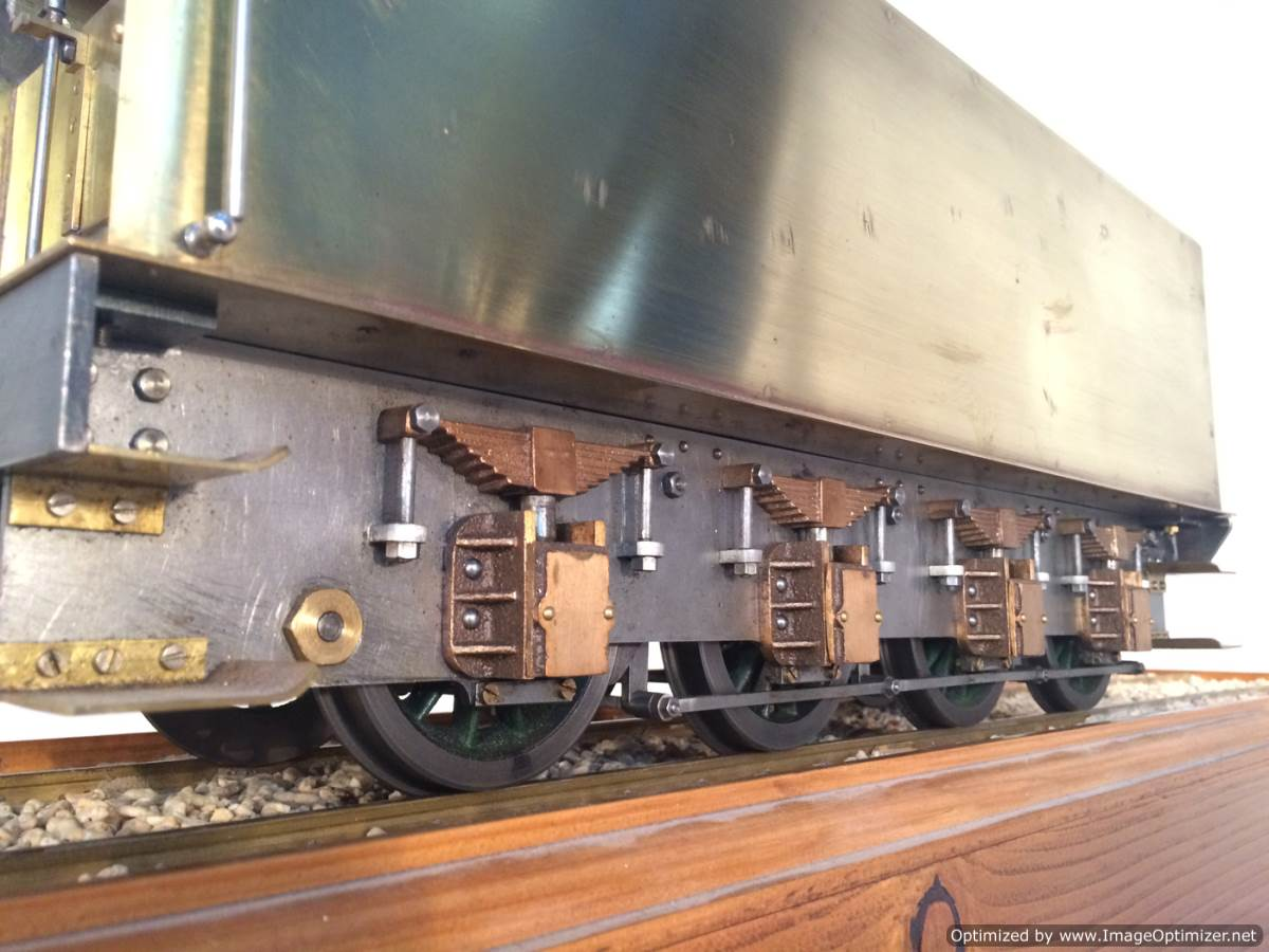 test 3 gauge live steam miniature locomotive LBSC Heilan Lassie Thompson A1 for sale 17-Optimized