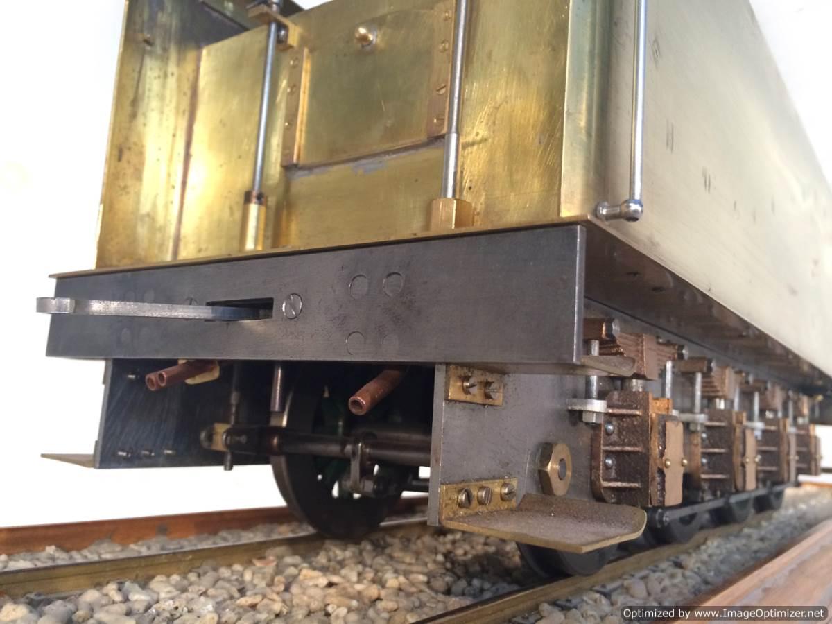 test 3 gauge live steam miniature locomotive LBSC Heilan Lassie Thompson A1 for sale 19-Optimized