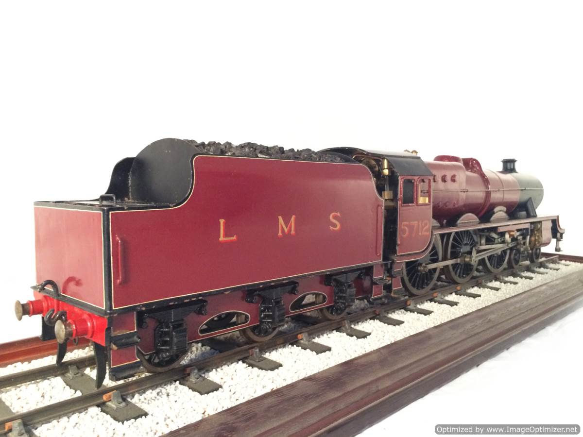 test 2 and a half 3 gauge LMS Jubilee live steam model for sale 04-Optimized