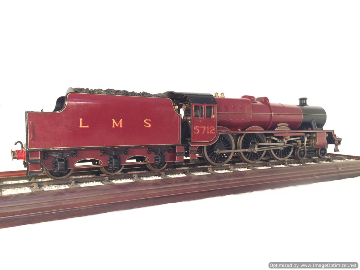 test 2 and a half 3 gauge LMS Jubilee live steam model for sale 05-Optimized