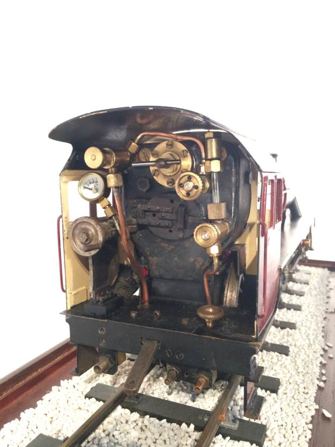 test 2 and a half 3 gauge LMS Jubilee live steam model for sale 06-Optimized