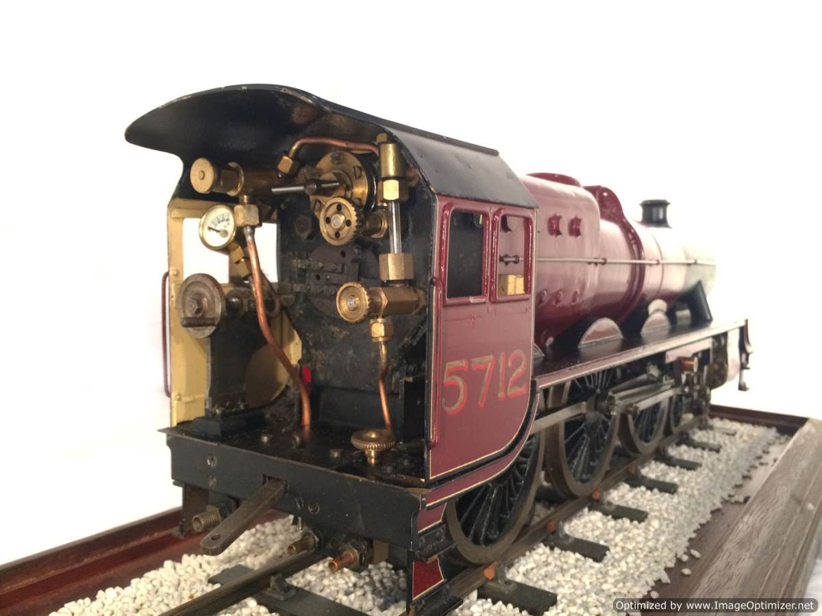 test 2 and a half 3 gauge LMS Jubilee live steam model for sale 07-Optimized