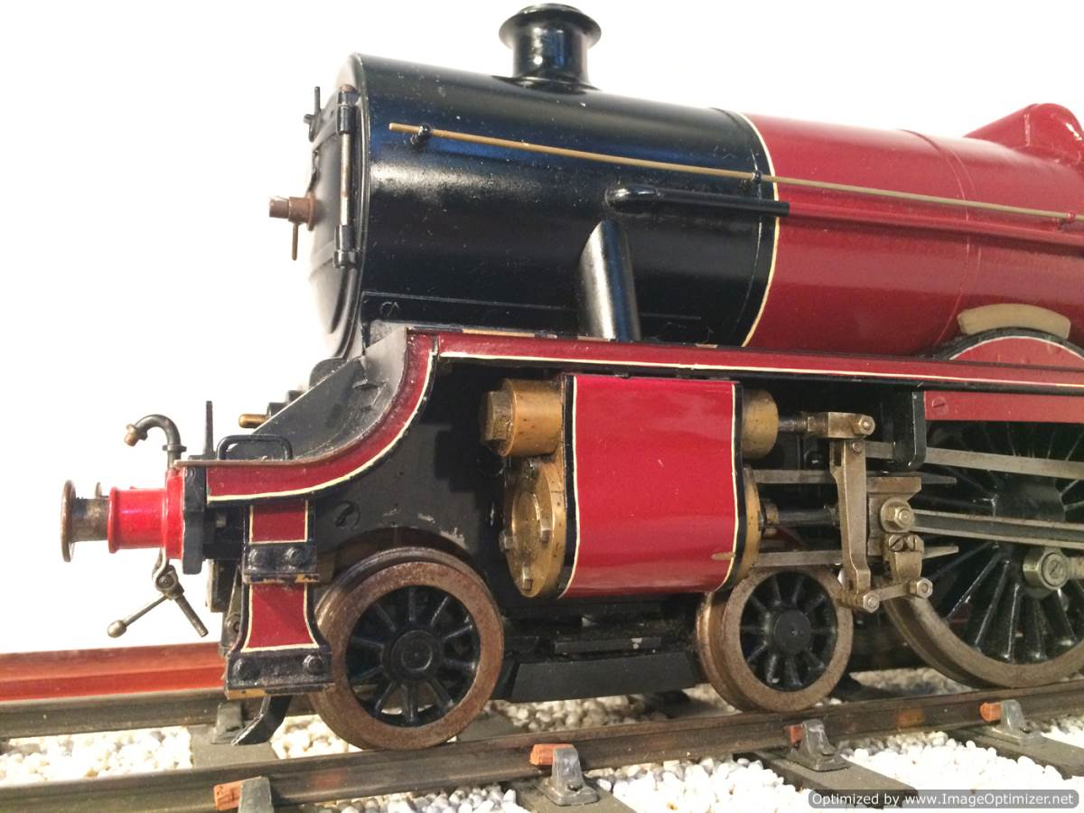 test 2 and a half 3 gauge LMS Jubilee live steam model for sale 08-Optimized