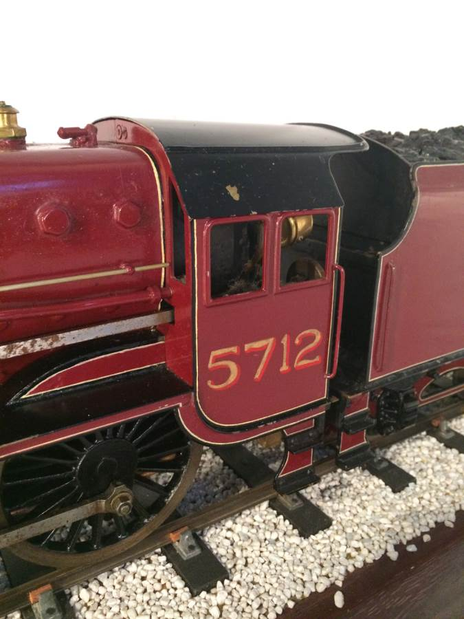 test 2 and a half 3 gauge LMS Jubilee live steam model for sale 10-Optimized