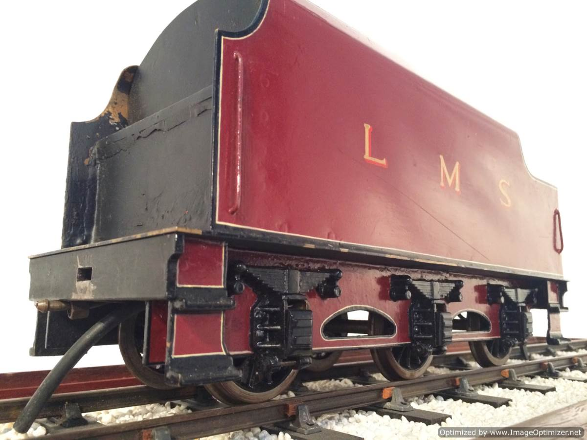 test 2 and a half 3 gauge LMS Jubilee live steam model for sale 11-Optimized