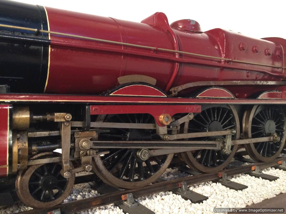 test 2 and a half 3 gauge LMS Jubilee live steam model for sale 12-Optimized