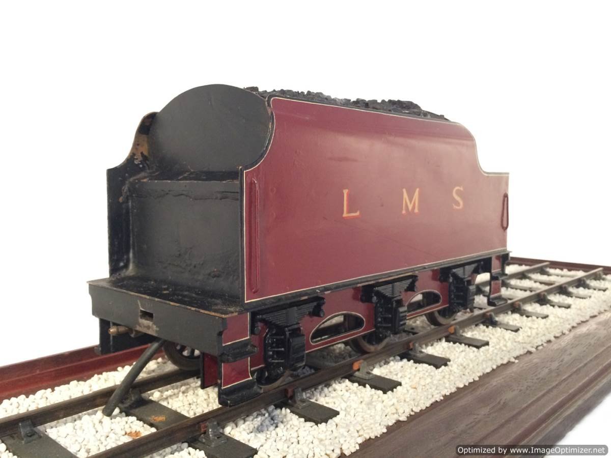 test 2 and a half 3 gauge LMS Jubilee live steam model for sale 13-Optimized
