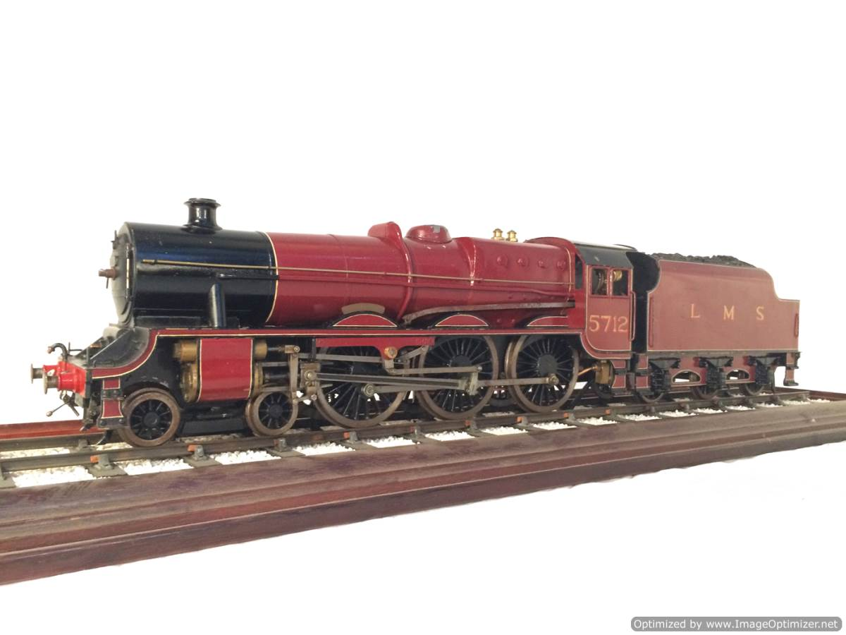 test 2 and a half 3 gauge LMS Jubilee live steam model for sale 14-Optimized