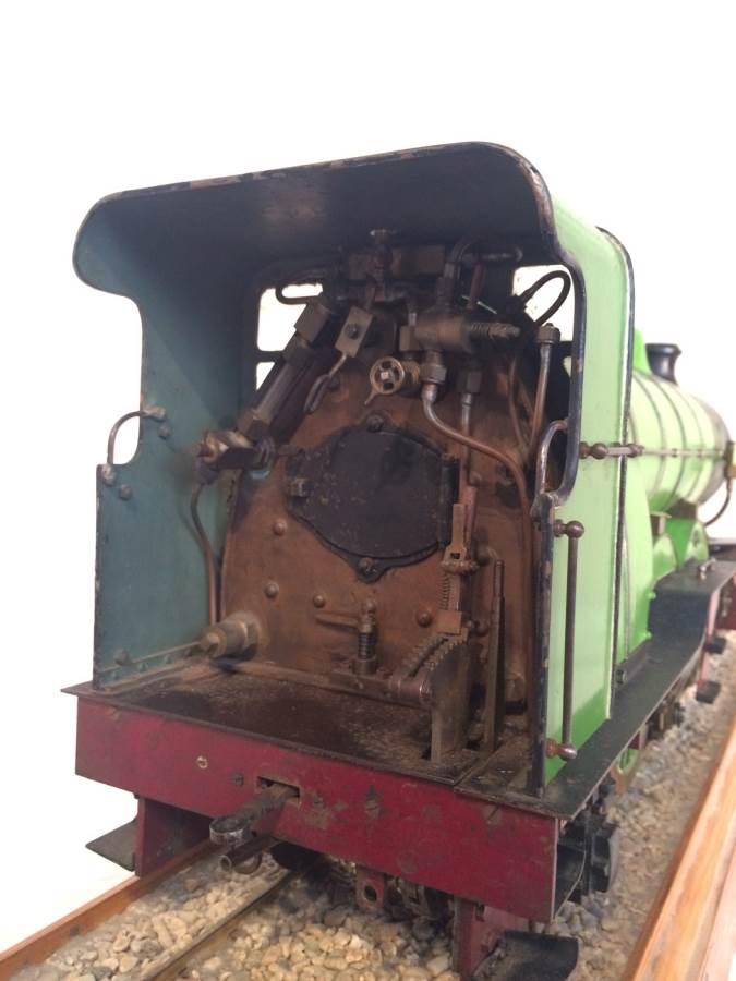 test 3 and a half inch gauge LBSC Maisie LNER C1 Atlantic for sale 02-Optimized