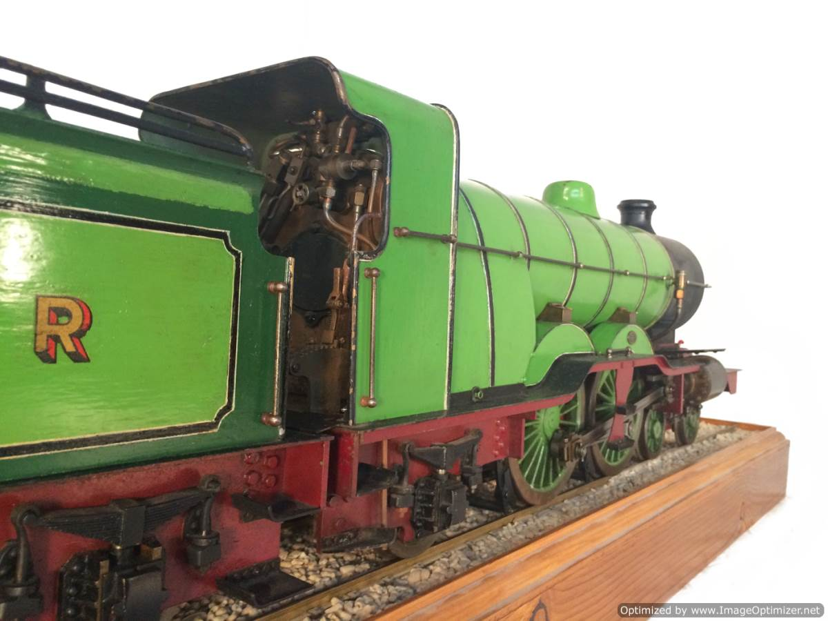 test 3 and a half inch gauge LBSC Maisie LNER C1 Atlantic for sale 04-Optimized