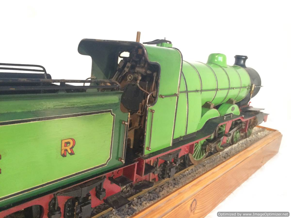 test 3 and a half inch gauge LBSC Maisie LNER C1 Atlantic for sale 05-Optimized