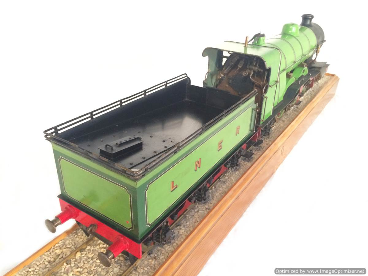 test 3 and a half inch gauge LBSC Maisie LNER C1 Atlantic for sale 06-Optimized