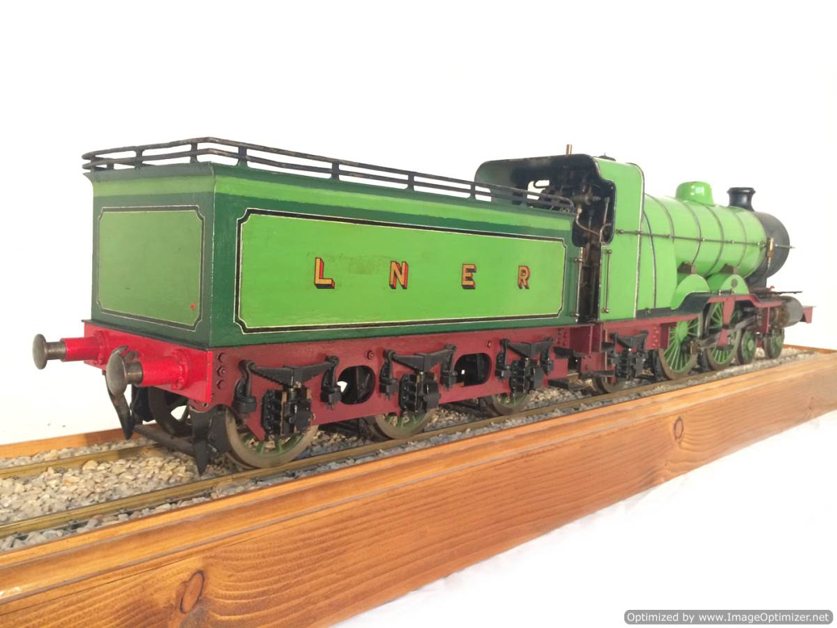 test 3 and a half inch gauge LBSC Maisie LNER C1 Atlantic for sale 07-Optimized