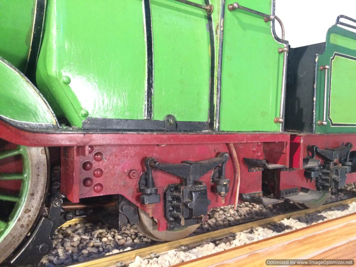 test 3 and a half inch gauge LBSC Maisie LNER C1 Atlantic for sale 10-Optimized