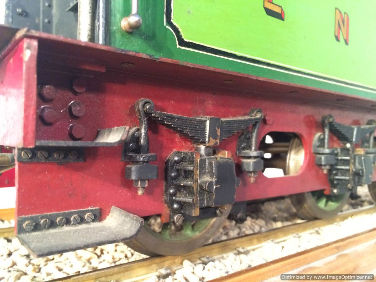 test 3 and a half inch gauge LBSC Maisie LNER C1 Atlantic for sale 16-Optimized