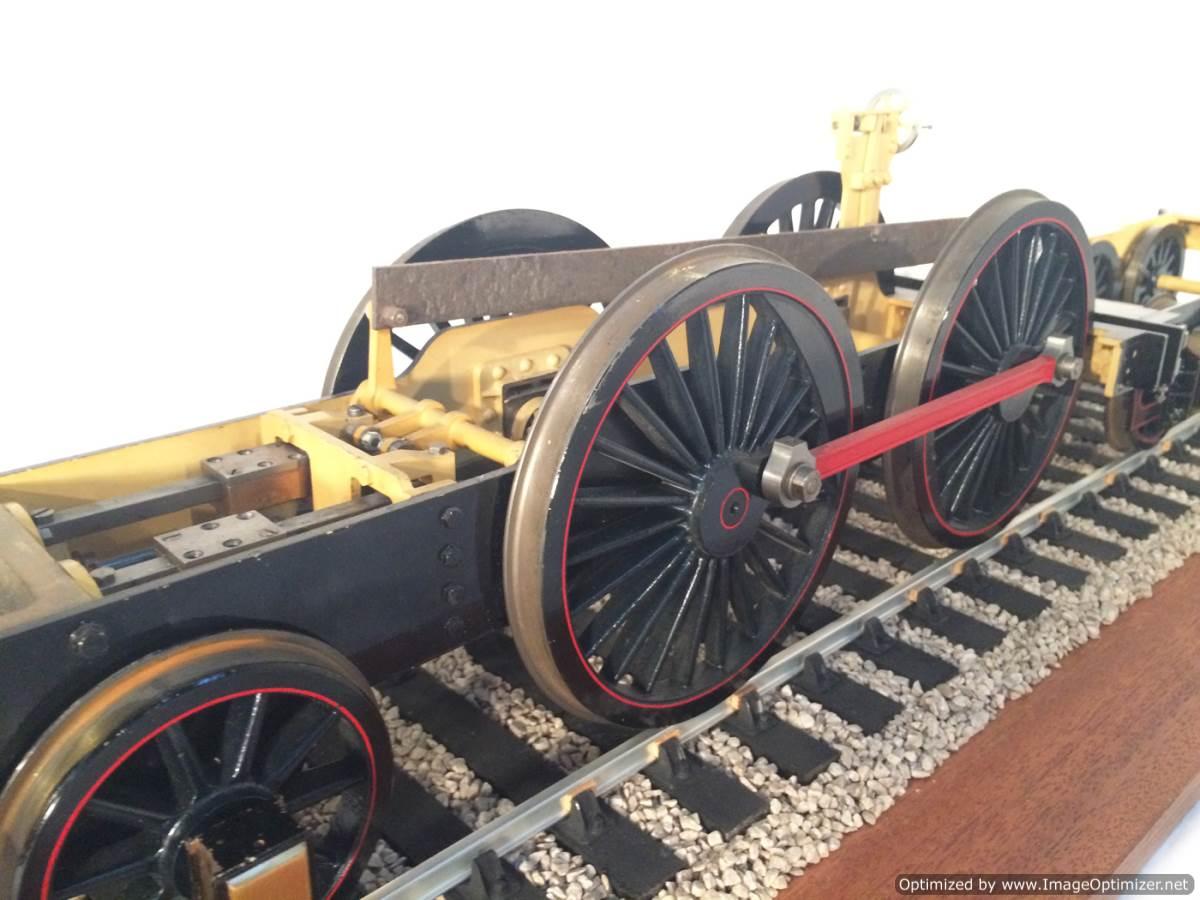 test 3 gauge NER T26 LBSC Petrolea live steam locomotive for sale 19-Optimized