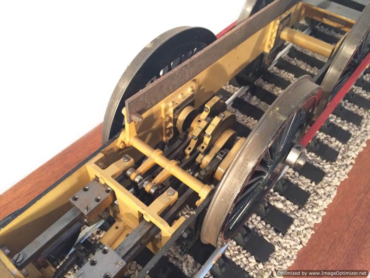 test 3 gauge NER T26 LBSC Petrolea live steam locomotive for sale 20-Optimized