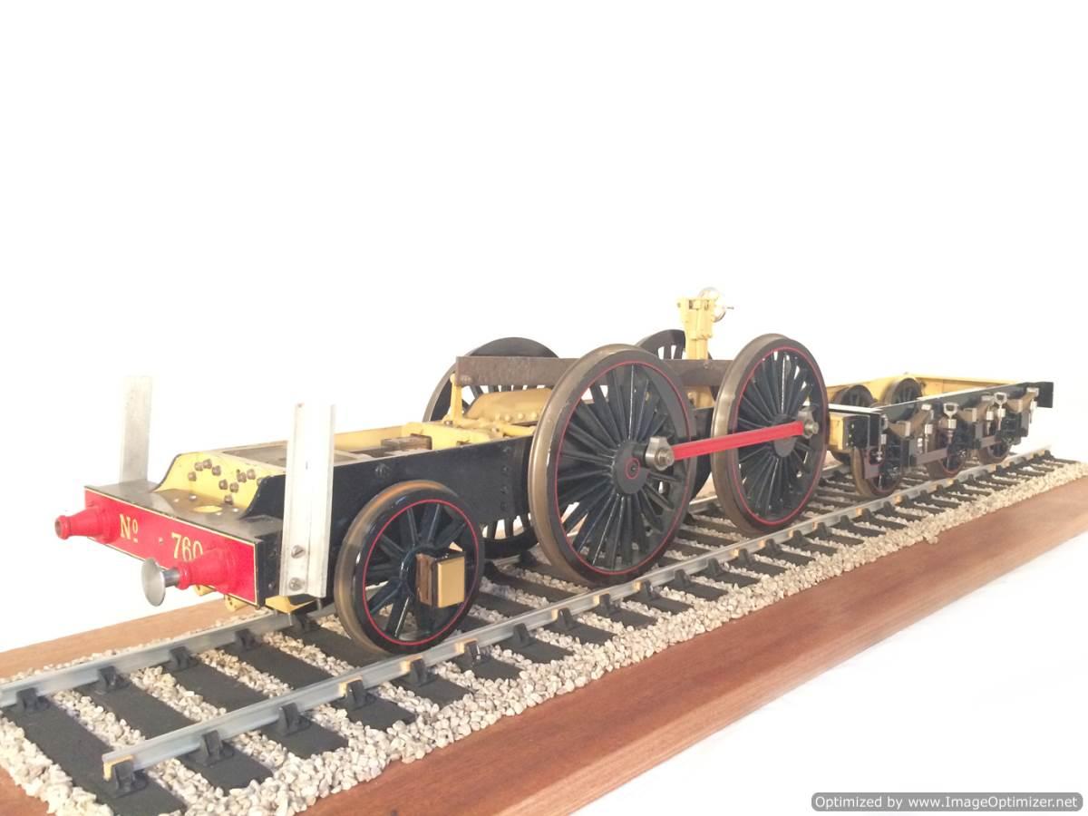 test 3 gauge NER T26 LBSC Petrolea live steam locomotive for sale 21-Optimized