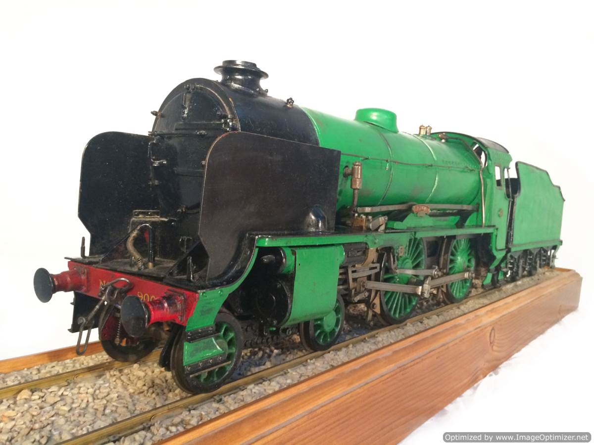 test 3 gauge Southern Schools class live steam model for sale 03-Optimized