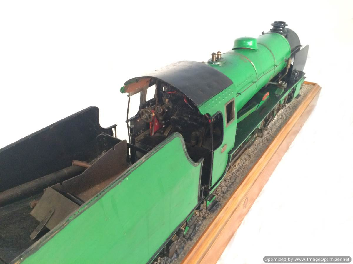 test 3 gauge Southern Schools class live steam model for sale 12-Optimized