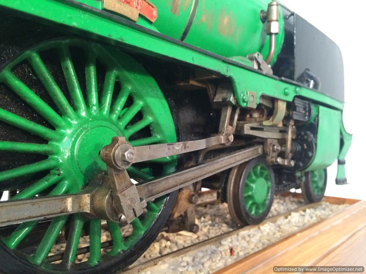 test 3 gauge Southern Schools class live steam model for sale 16-Optimized