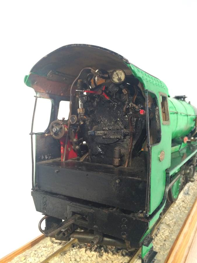 test 3 gauge Southern Schools class live steam model for sale 21-Optimized