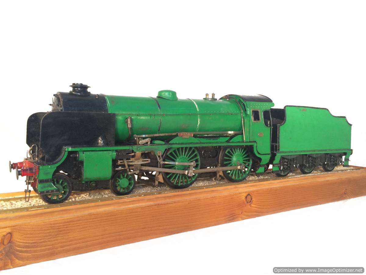 test 3 gauge Southern Schools class live steam model for sale 22-Optimized