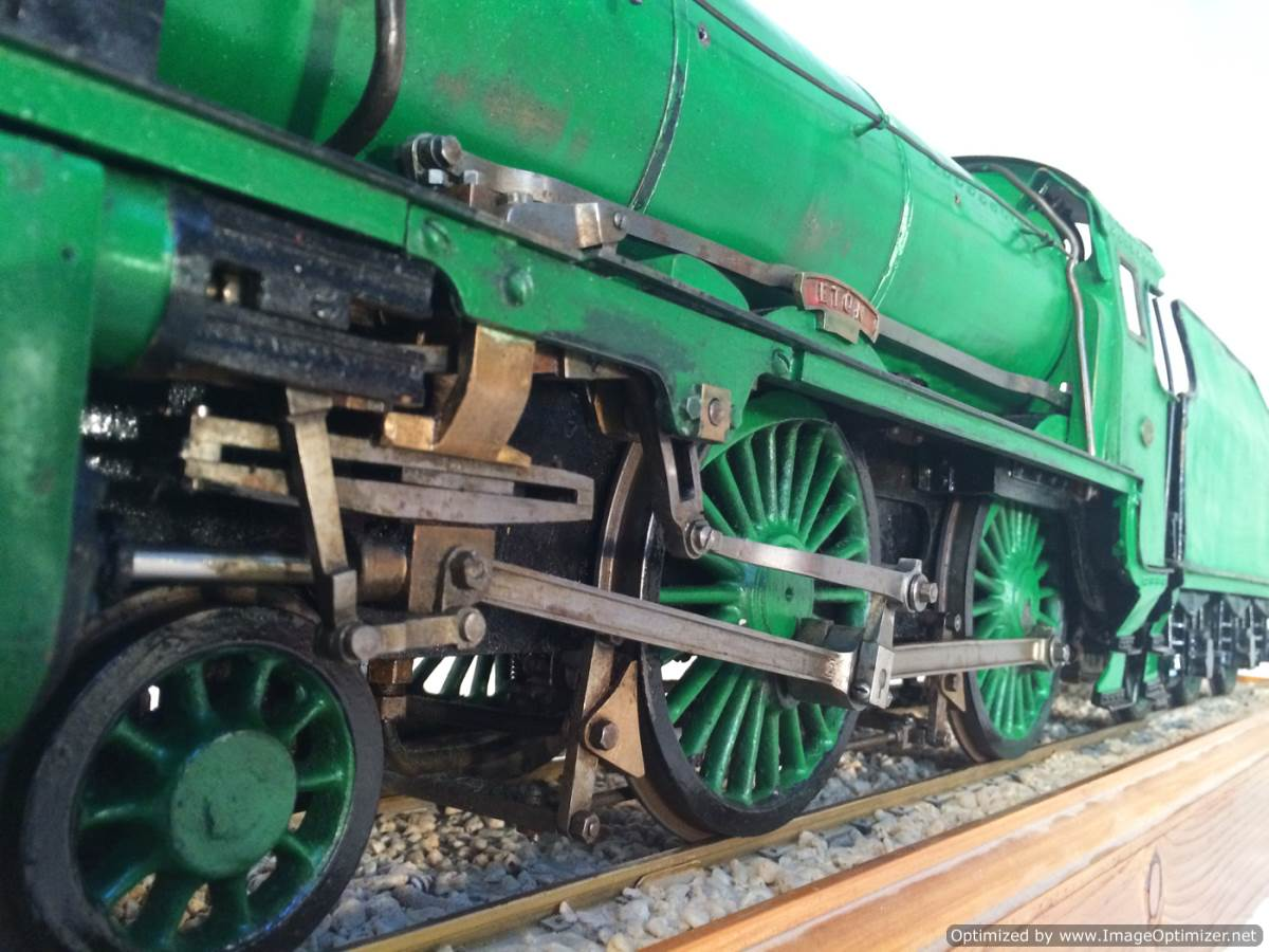 test 3 gauge Southern Schools class live steam model for sale 25-Optimized