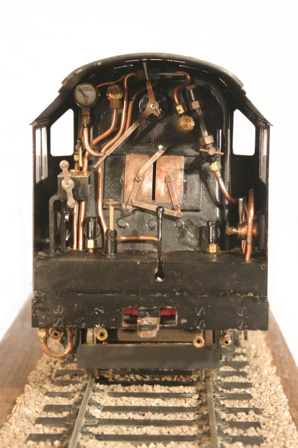 test 3 gauge LMS Stanier Duchess locomotive live steam model for sale 03-Optimized