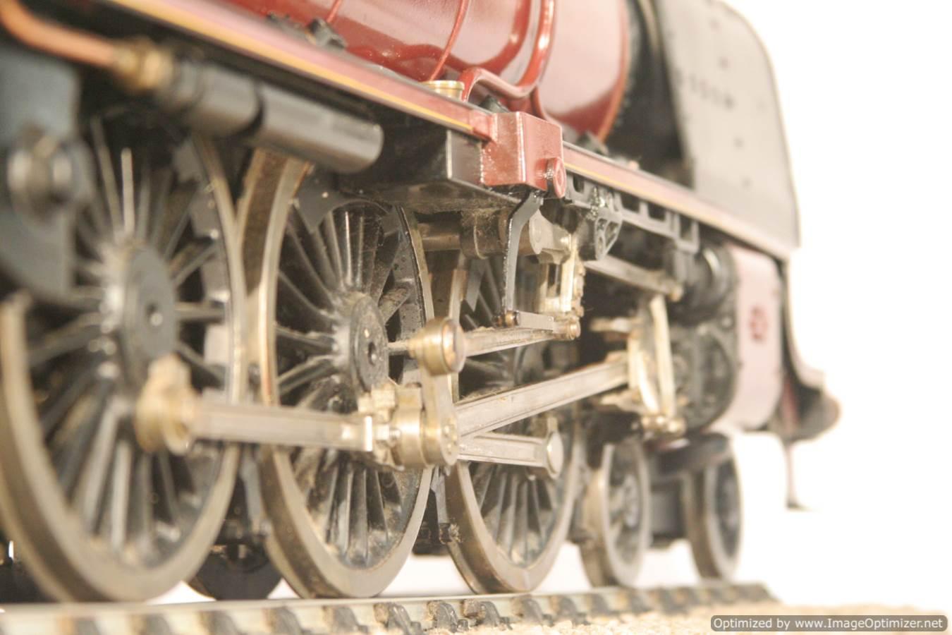 test 3 gauge LMS Stanier Duchess locomotive live steam model for sale 06-Optimized