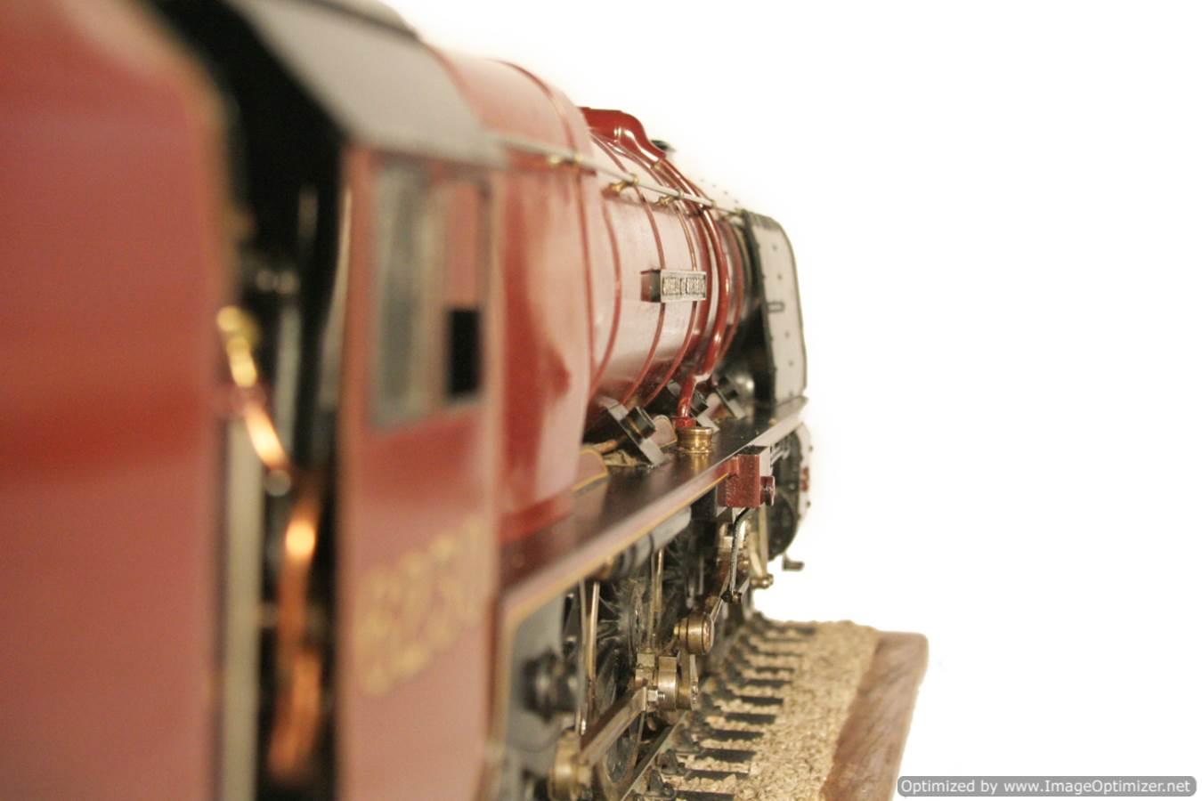 test 3 gauge LMS Stanier Duchess locomotive live steam model for sale 07-Optimized