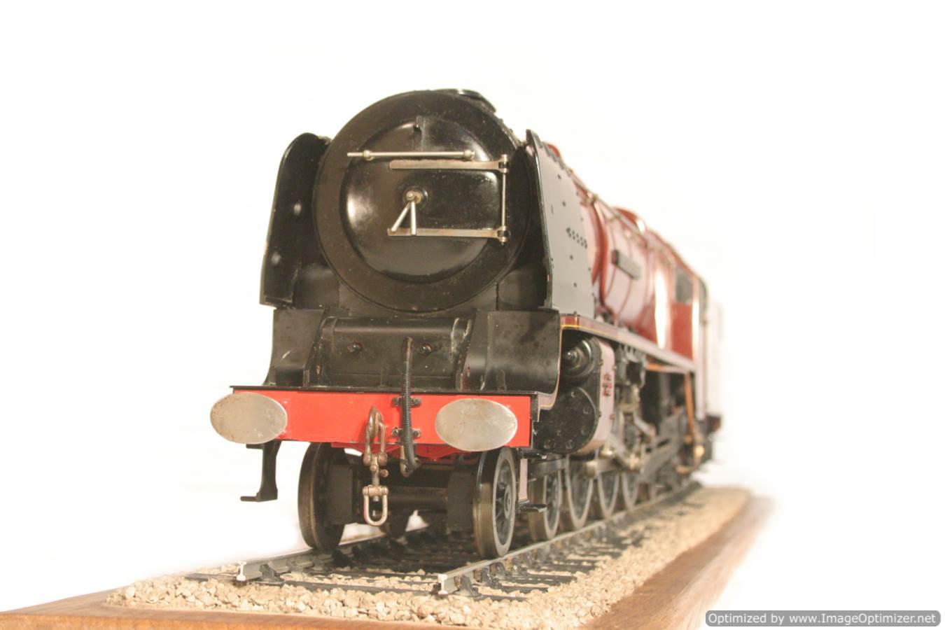 test 3 gauge LMS Stanier Duchess locomotive live steam model for sale 09-Optimized