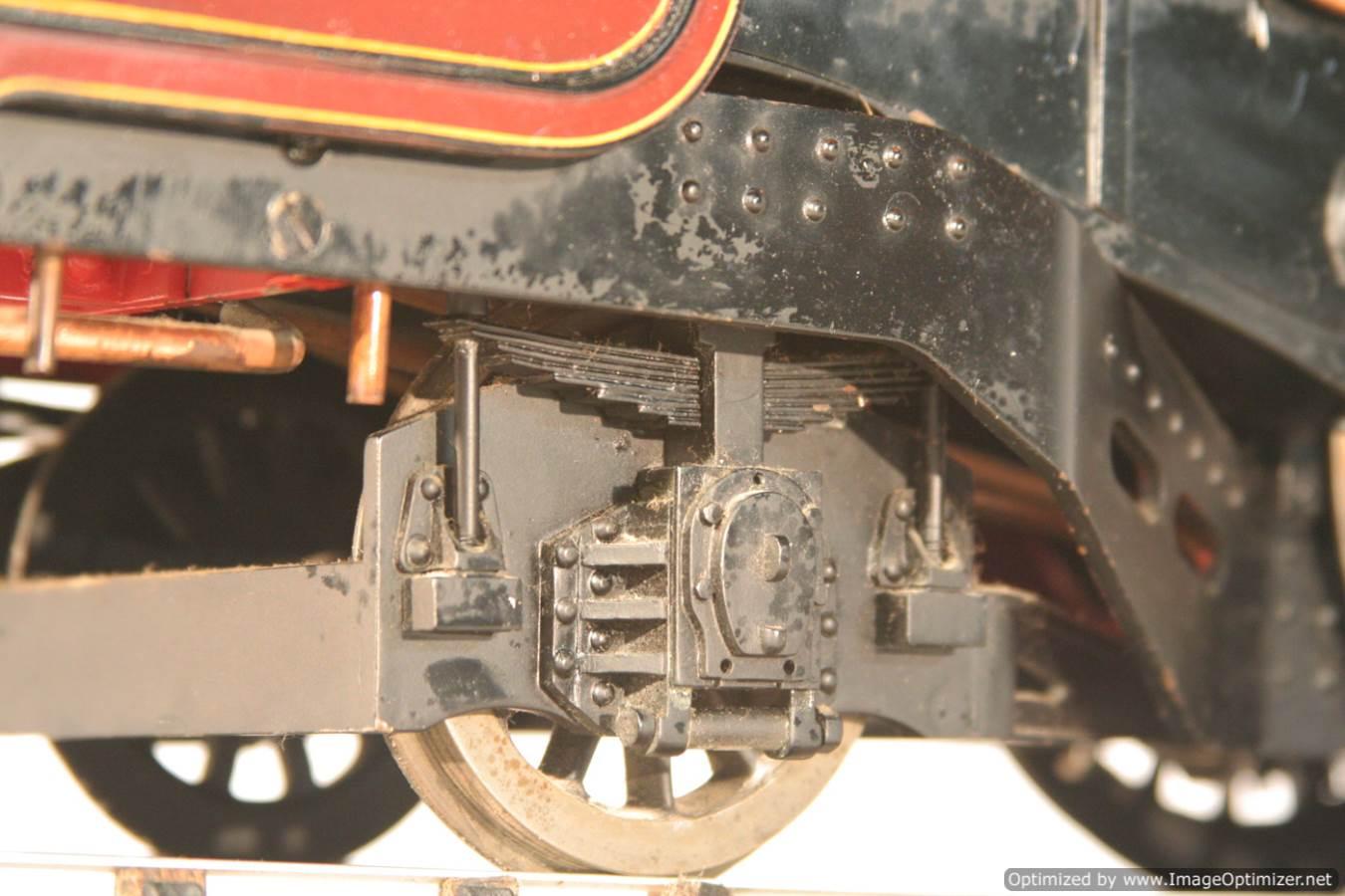 test 3 gauge LMS Stanier Duchess locomotive live steam model for sale 13-Optimized