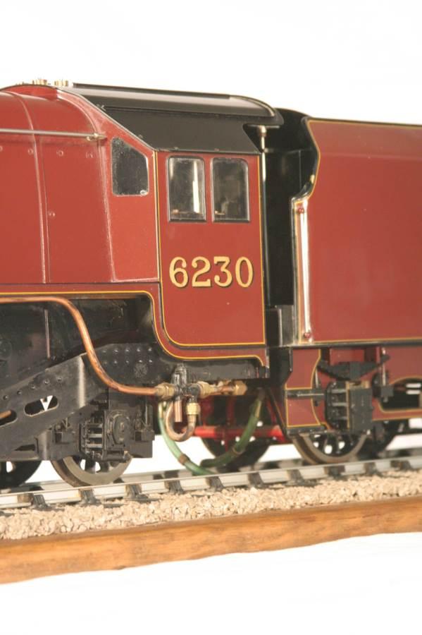 test 3 gauge LMS Stanier Duchess locomotive live steam model for sale 15-Optimized