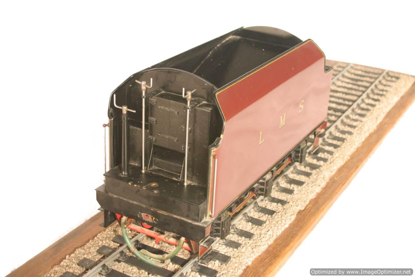 test 3 gauge LMS Stanier Duchess locomotive live steam model for sale 17-Optimized