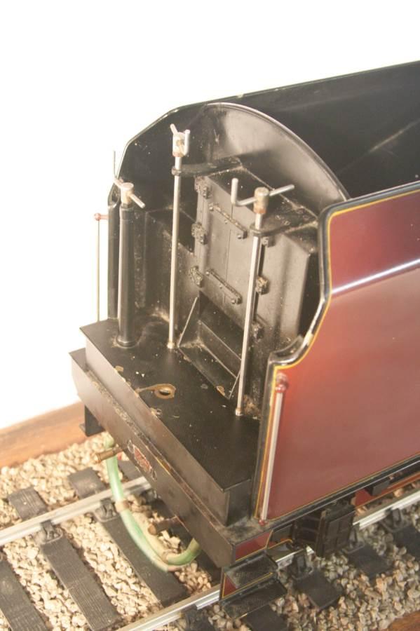 test 3 gauge LMS Stanier Duchess locomotive live steam model for sale 19-Optimized